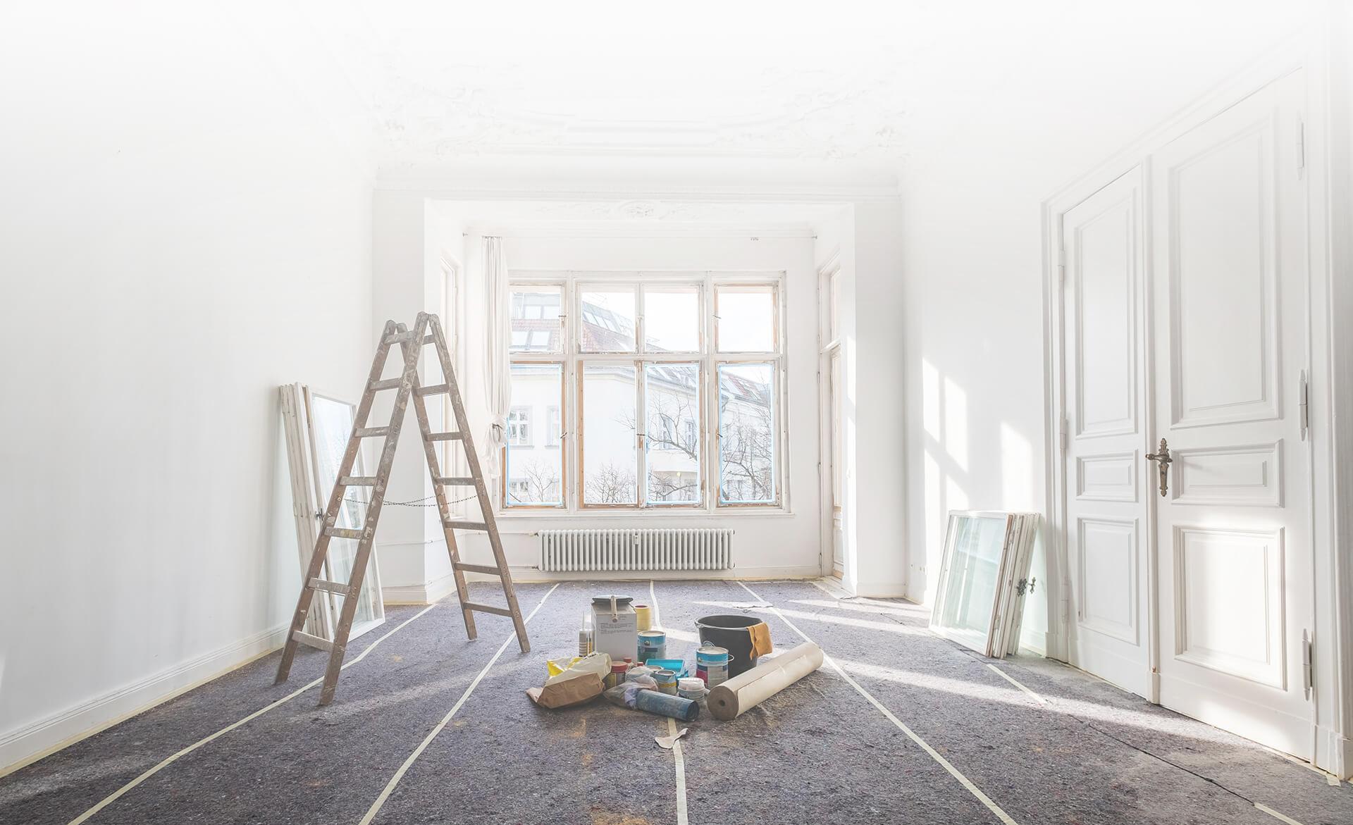 Renovace pokoje a oken